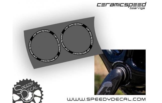 Ceramicspeed bearing - adesivi personalizzati