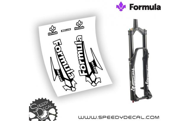 Formula Selva 2016 - adesivi personalizzati per forcella