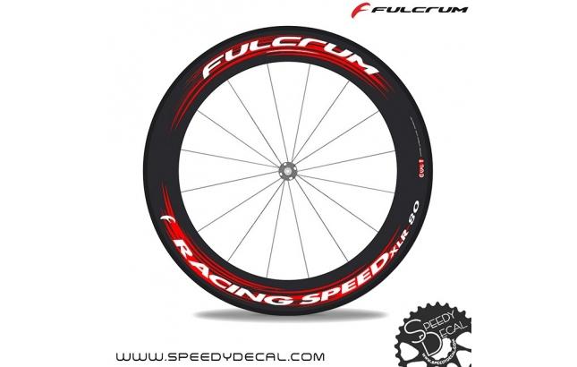 Fulcrum Racing Speed XLR 80 cult - adesivi personalizzati per ruote strada