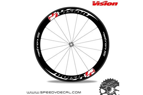 Vision Metron 55 adesivi personalizzati per ruote strada