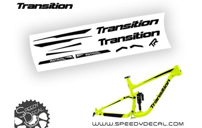 Transition Patrol 2016 - kit adesivi telaio
