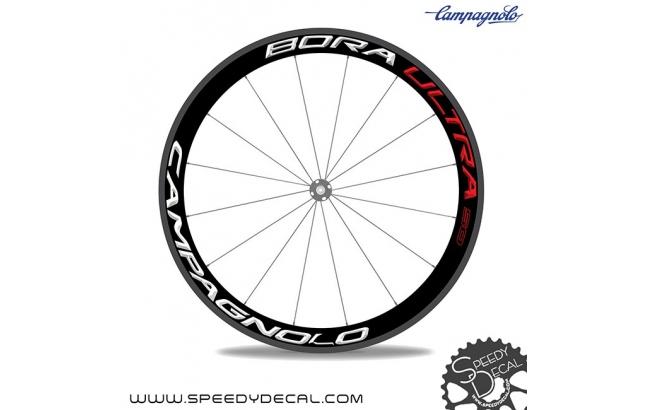 Campagnolo Bora Ultra 50 2016 - adesivi personalizzati per ruote