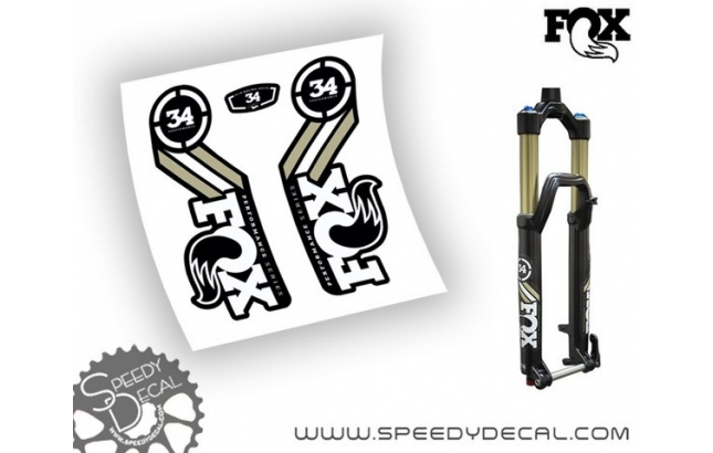 Fox Racing Shox 34 Performance Series 2015/16 - adesivi per forcella