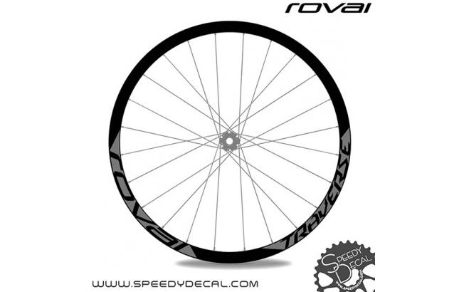 Specialized Roval Traverse 650b 38mm - adesivi personalizzati per cerchi mtb