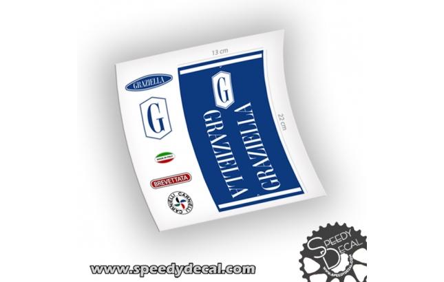 Graziella Carnielli - adesivi personalizzati per telaio