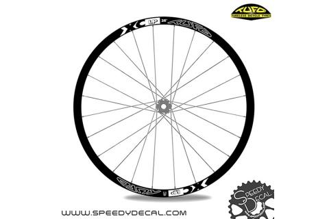 Tufo XC LP 26 - adesivi personalizzati per ruote MTB