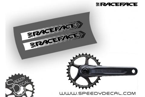 Race Face Next SL G4 - adesivi personalizzati per pedivelle