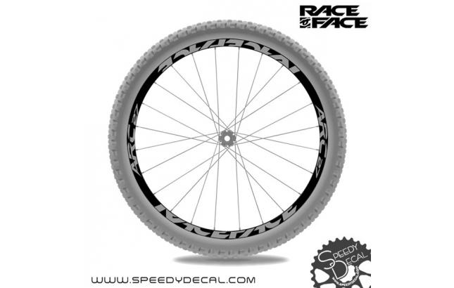 Race Face ARC 27 2016 - adesivi personalizzati per ruote