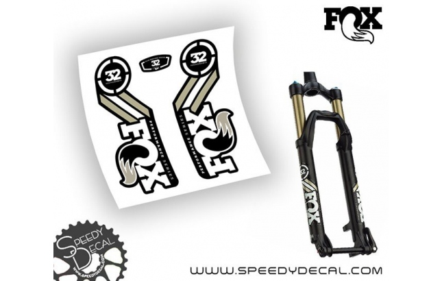 Fox Racing Shox 32 Performance Series 2015/16 - adesivi per forcella