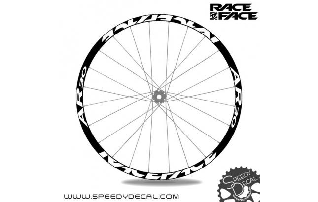 Race Face AR 30 - adesivi per ruote