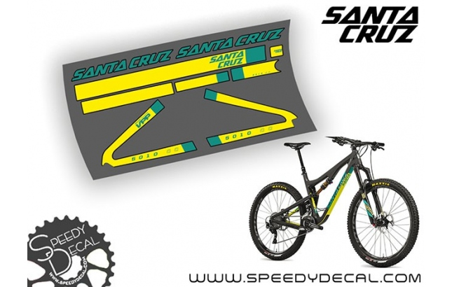 Santa Cruz 5010 C / CC 2016 - kit adesivi telaio