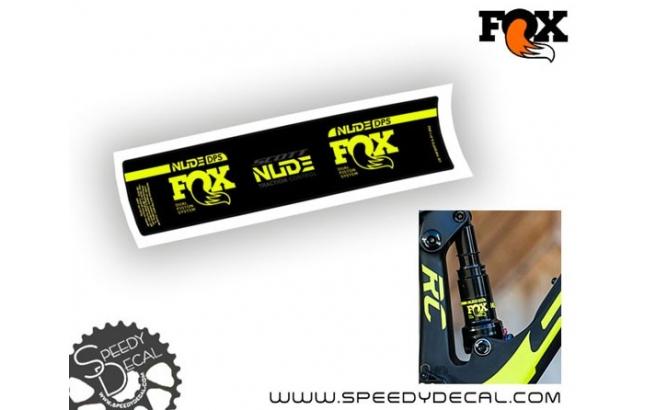 Fox Nude DPS 2017 - adesivi personalizzati
