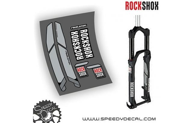 Rock Shox Revelation 2012 - adesivi personalizzati per forcella