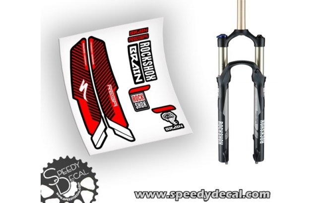 Rock Shox REBA BRAIN - adesivi per forcella