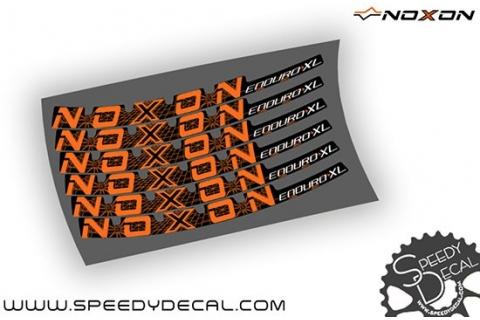 Noxon Enduro XL - adesivi personalizzati per cerchi mtb