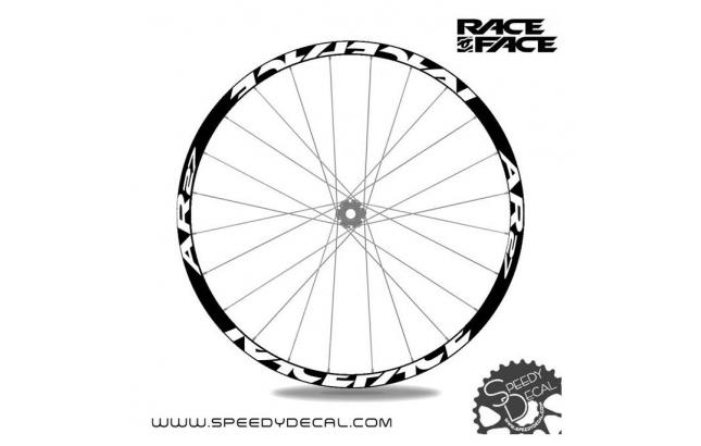 Race Face AR 27 - adesivi personalizzati per ruote