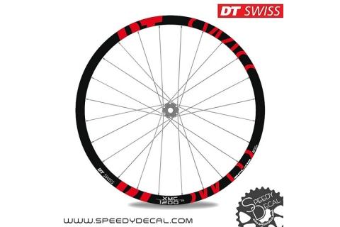 DT Swiss XMC 1200 - adesivi personalizzati per ruote