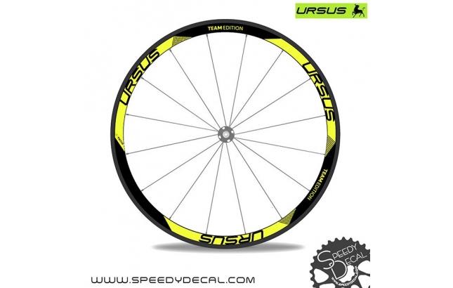 Ursus Miura T37 Team Edition - adesivi personalizzati per ruote