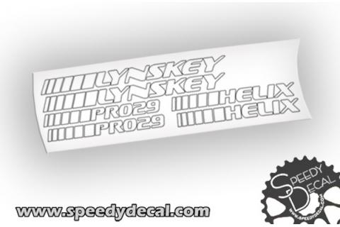 Linskey Pro 29 Helix - adesivi personalizzati per telaio