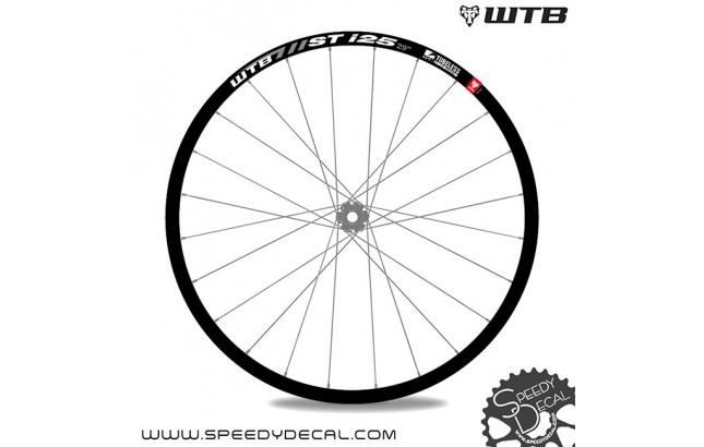 WTB ST i-25 - adesivi personalizzati per ruote MTB
