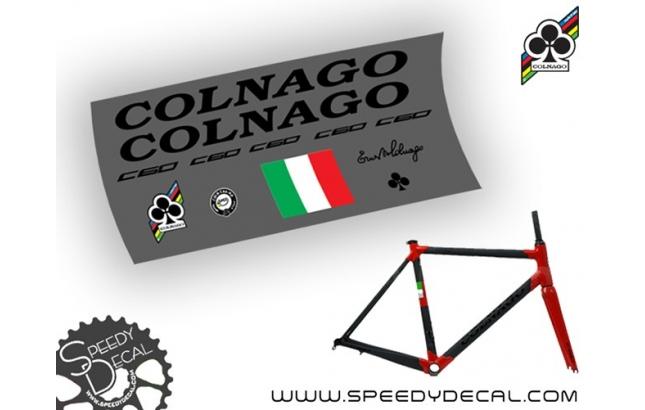 Colnago C60 2017 - kit adesivi per telaio