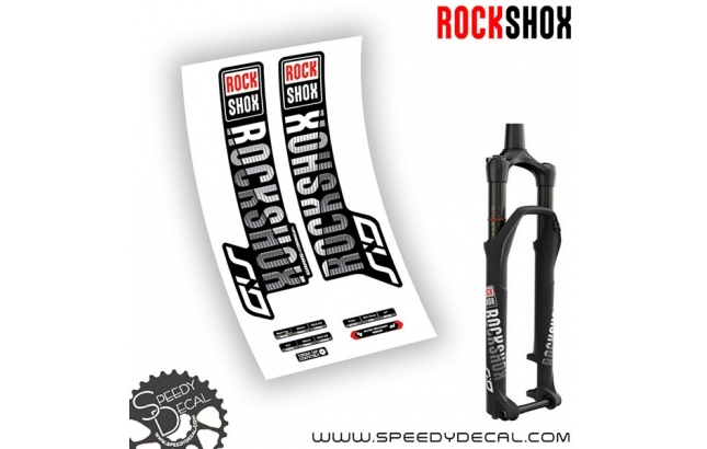 Rock shox Sid World Cup / RLC anno 2018 - adesivi per forcella