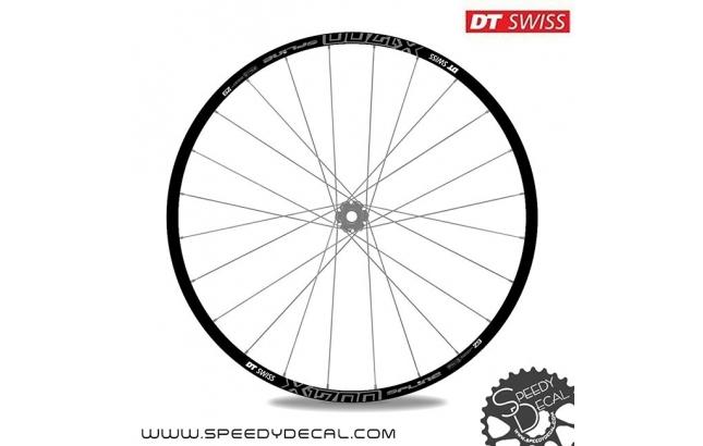 DT Swiss X1700 Spline 2 - adesivi personalizzati per ruote mtb