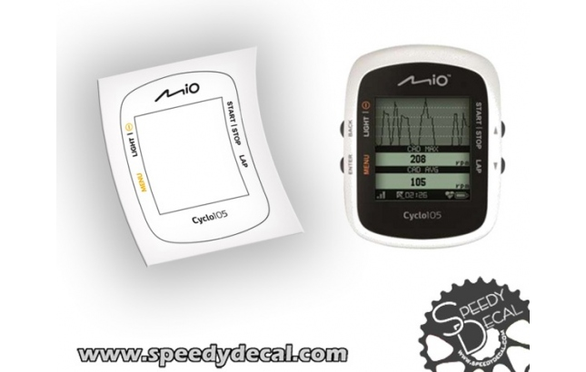 Mio technology cyclo 105 - cover adesiva