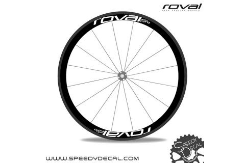 Roval Rapide CL 40 - adesivi personalizzati per ruote strada