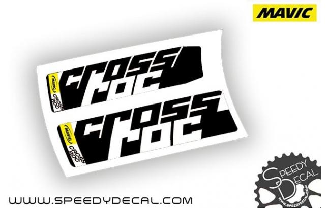 Mavic Crossroc 2015 - adesivi personalizzati per mozzi