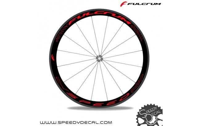 Fulcrum Speed 40c 2017 - adesivi per ruote