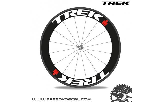 Adesivi personalizzati per ruote con logo Trek