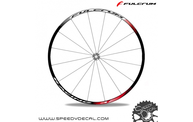 Fulcrum Racing 3 - adesivi per ruote
