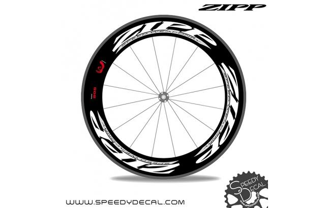 Zipp 808 Firecrest 2012 *kit adesivi per 1 ruota*