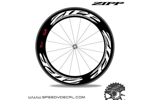 Zipp 808 Firecrest adesivi personalizzati anno 2012