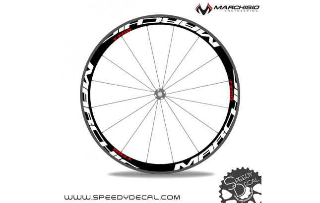 Marchisio T700 carbon adesivi personalizzati