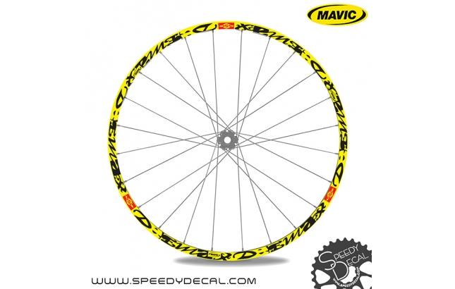 Mavic deemax SSC 2014 - adesivi per ruote