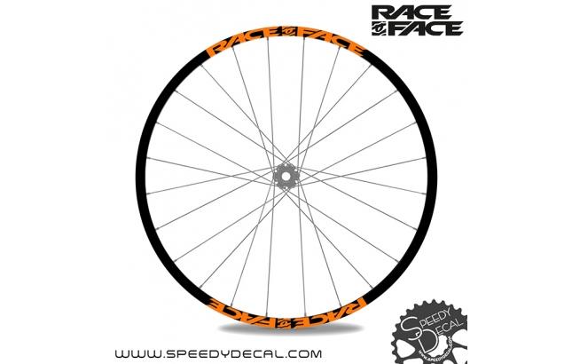 Adesivi personalizzati per ruote con logo Race Face