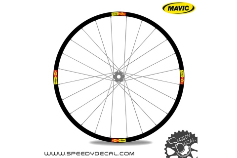 Mavic SSC adesivi personalizzati per ruote con logo