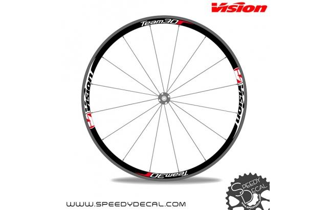 Vision Team 30 - adesivi per ruote