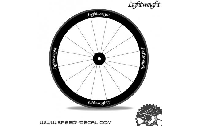 Lightweight Standard 3 - adesivi per ruote