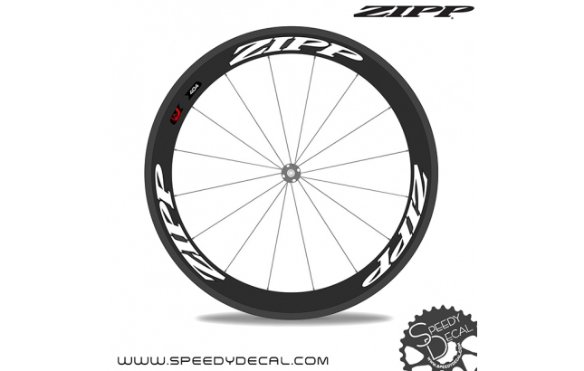 Zipp 404 Firecrest 2014 *kit adesivi per 1 ruota*