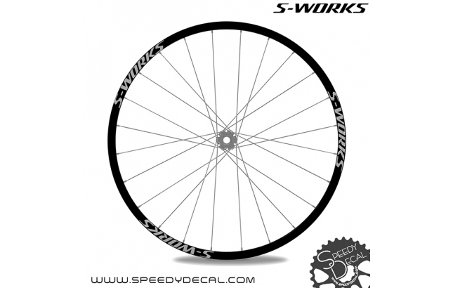 Specialized S-works 2015 - adesivi per ruote