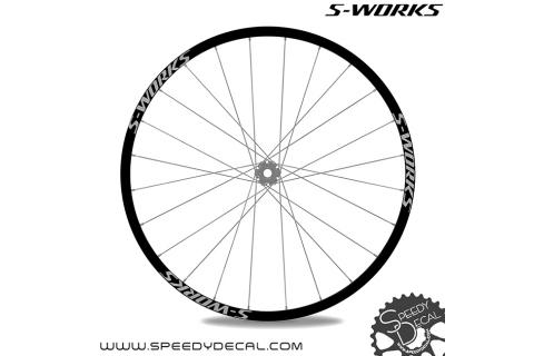 Specialized S-works - adesivi personalizzati per ruote mtb