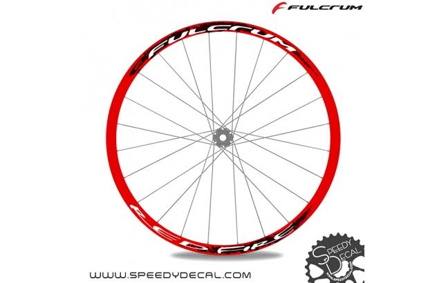 Fulcrum Red Fire - adesivi per ruote