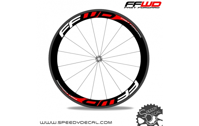 FFWD Fast Forward - adesivi per ruote