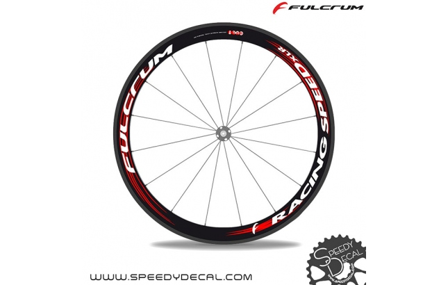 Fulcrum Racing Speed XLR 50mm - adesivi per ruote