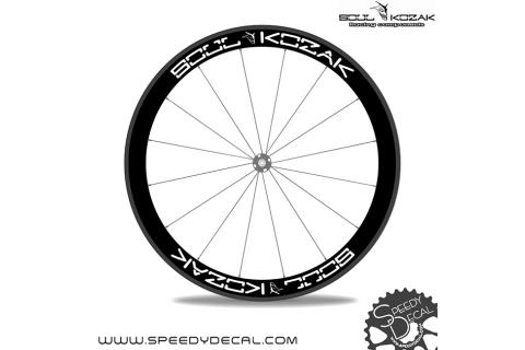 logo Soul Kozak - adesivi personalizzati per ruote strada/mtb
