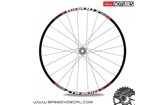 ZTR NoTubes Arch Ex 2014 - adesivi per ruote