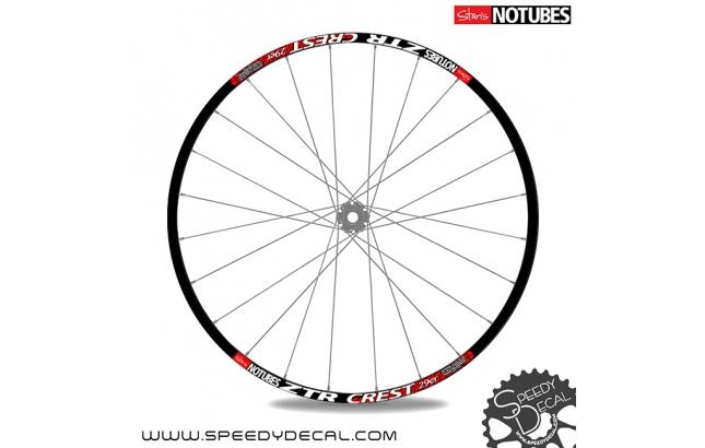 Stant's No Tubes ZTR Crest 2014 - adesivi per ruote